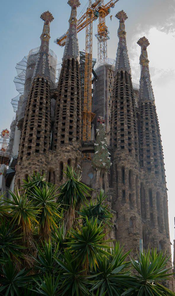 Sagrada Familia Barcelone exterieur