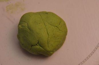 Et voilà une pâte bien verte et homogène !