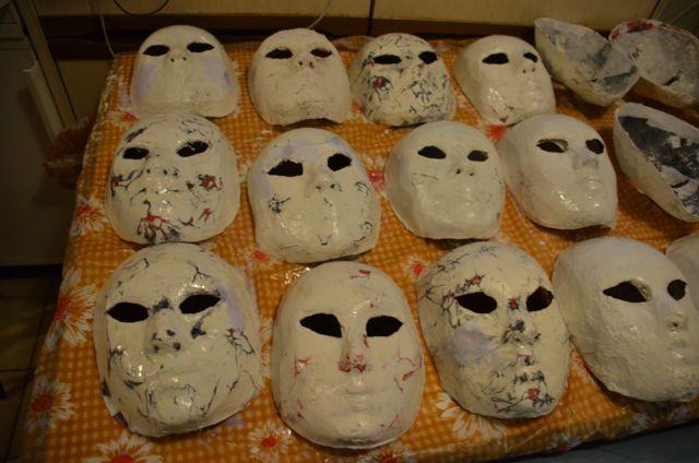 Une vraie usine à masques !