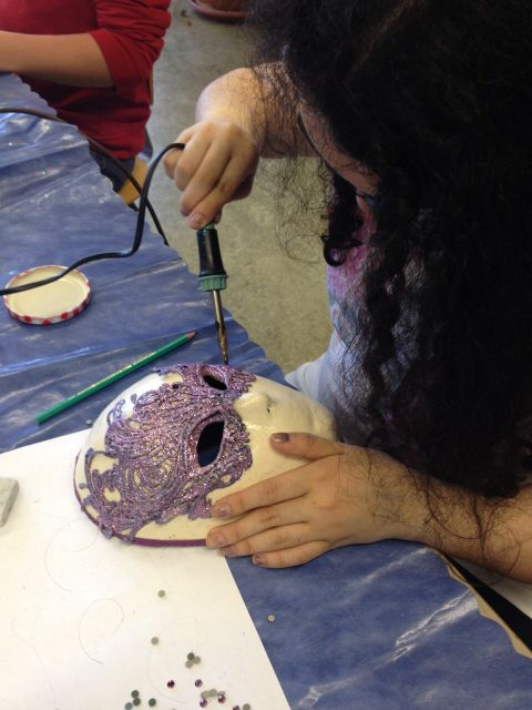 Atelier n° 25: les masques sont terminés !