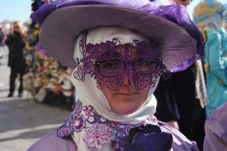 Un masque en dentelle souple étit finalement idéal