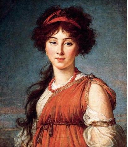 Photo tirée de la page: http://www.babelio.com/auteur/Madame-de-Stal/12639