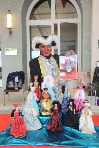 Le stand de vente vu par Anne Clerebaut