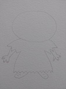 dessiner les mains et les pieds