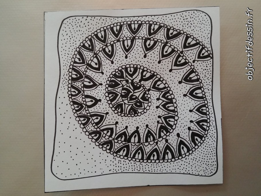 zentangle escargot