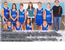 2007-2008 Minimes Filles