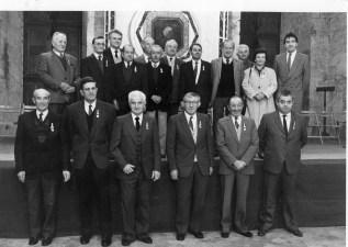 1989 Remise de médailles par J.F Poncet délégué du SIVOM