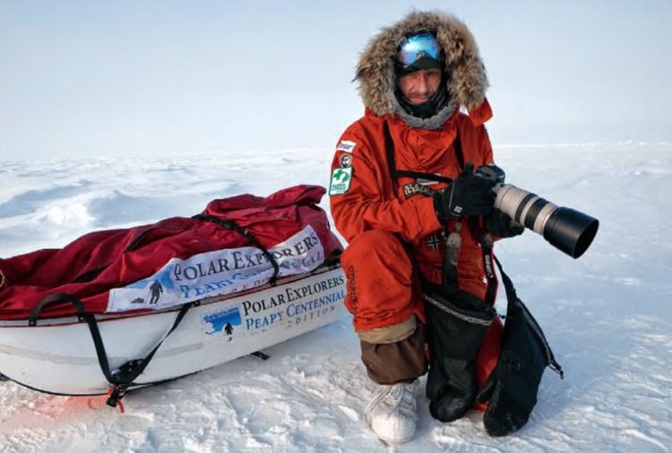 sebastian copeland - explorateur polaire en mission