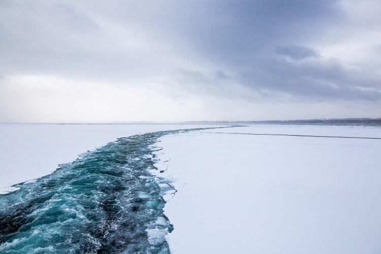 Abshiri Hokkaido Japan winter drift ice Aurora 4