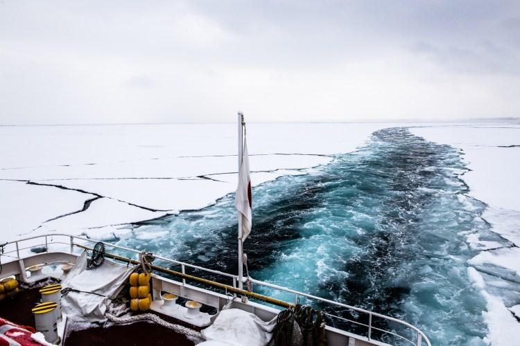 Abshiri Hokkaido Japan winter drift ice Aurora 5