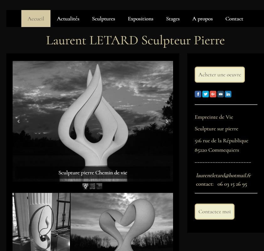 Site-de-Laurent-LETARD-2016-09 Devenir visible sur internet