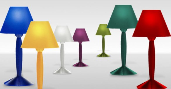 miss sissi table lamp from flos