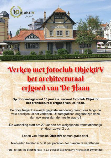 Flyer fotowalk De Haan