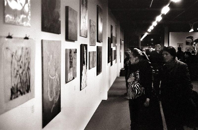 Ausstellungseroeffnung BBK Aachen/Euregio Jahresausstellung 2012 #1