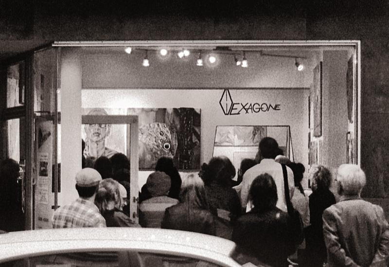 Ausstellungseröffnung Galerie Hexagone Aachen 1