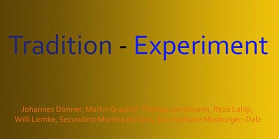 Ausstellungseroeffnung Tradition Experimentell BBK Aachen/Euregio