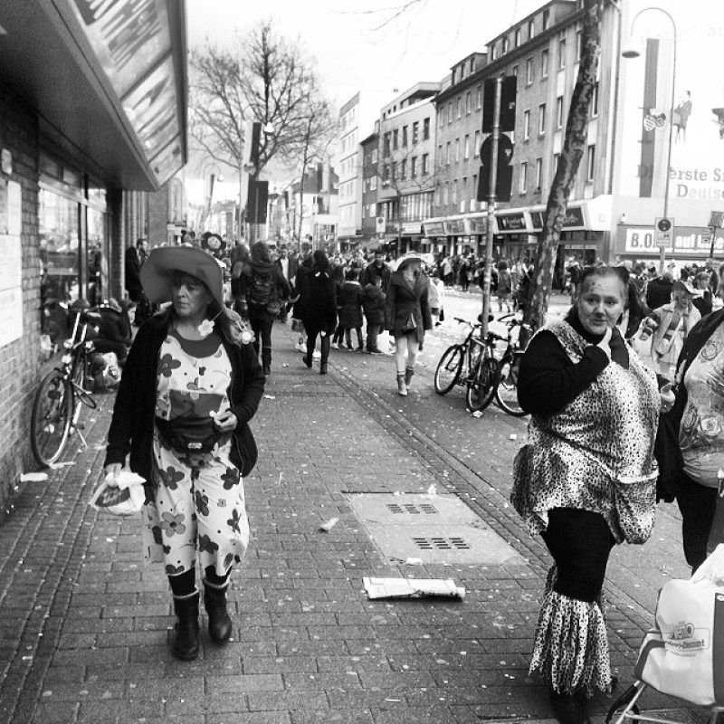 Same procedure as every day. NOT. #Veedelsumzug #Karneval #Ehrenfeld Instagram