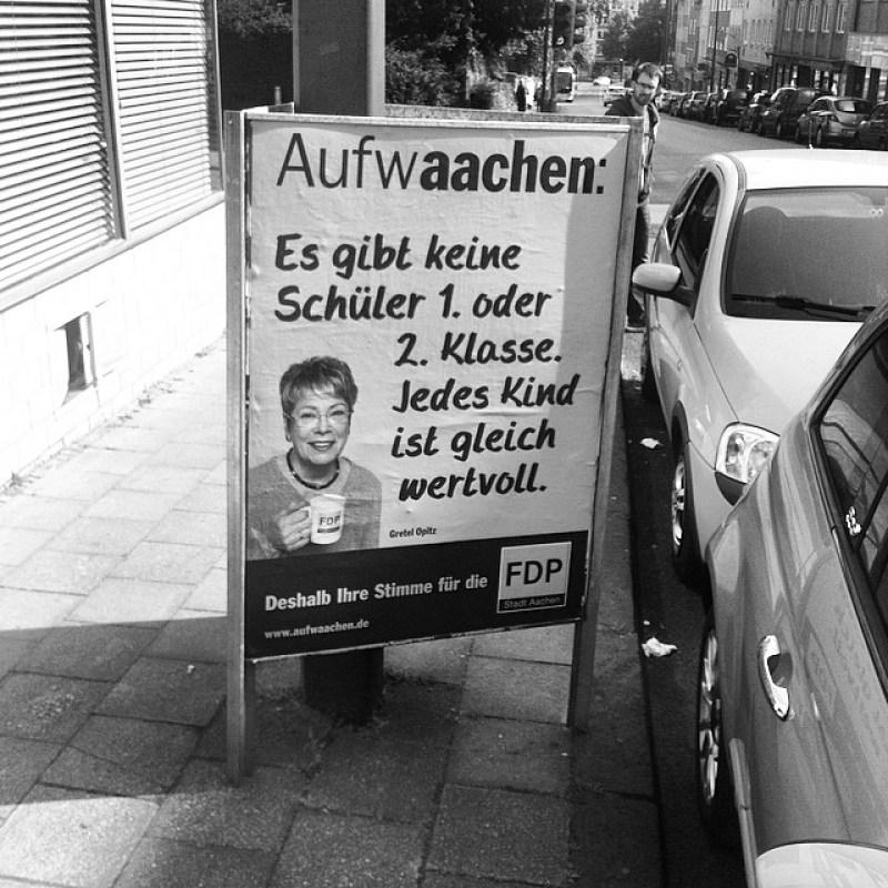 ... soso, die #FDP will die Kinder demnächst also direkt in die 3. Klasse einschulen... Instagram