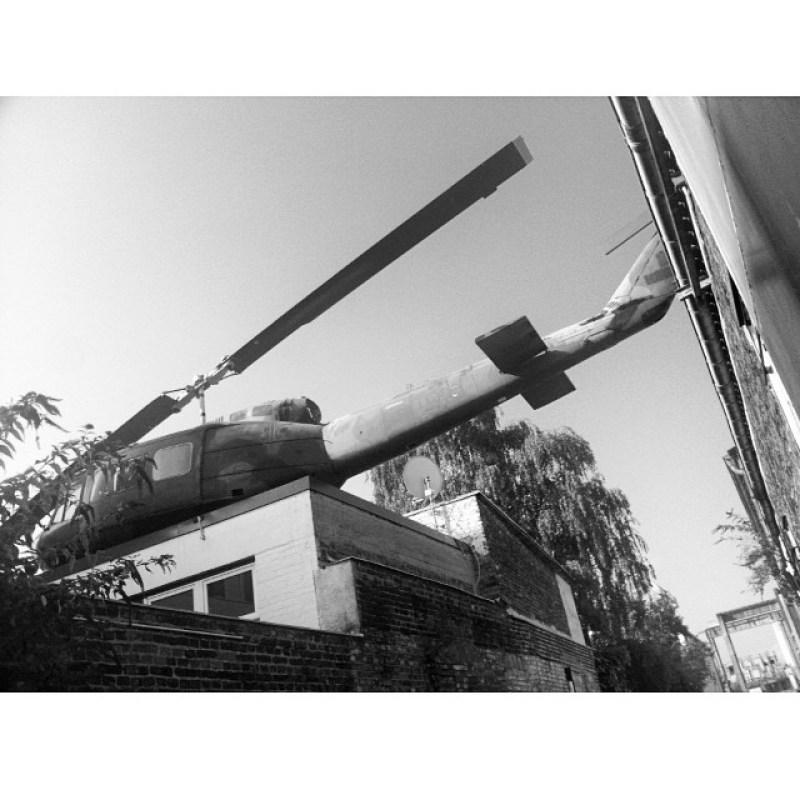 Jetzt isses nur noch ein normaler #Hubschrauber, und keiner mehr von #GNTM #Topmodel (#twitter) Instagram