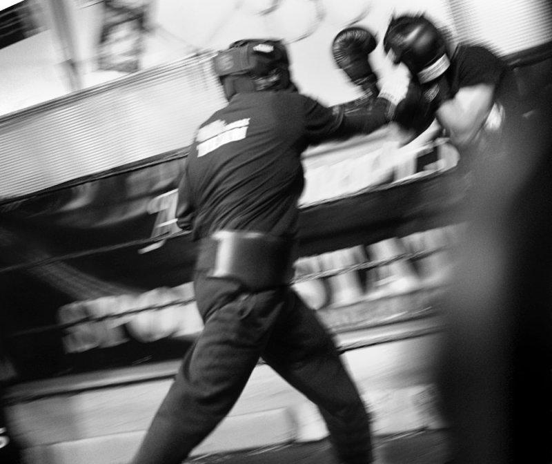 Harter Kampf beim Boxtraining des MLK Team Aachen