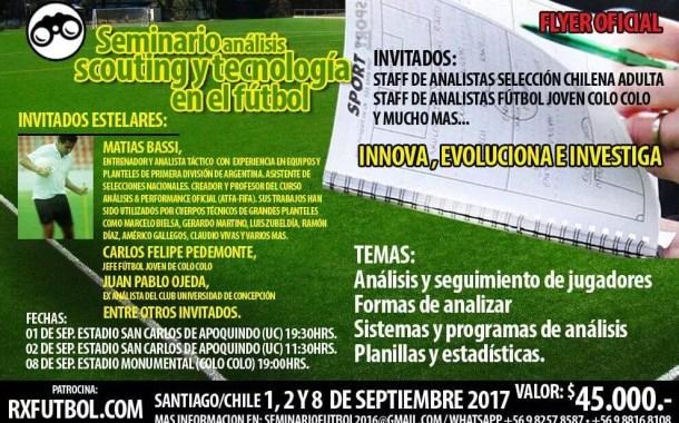 Seminario Análisis, Scouting y Tecnología en el Fútbol