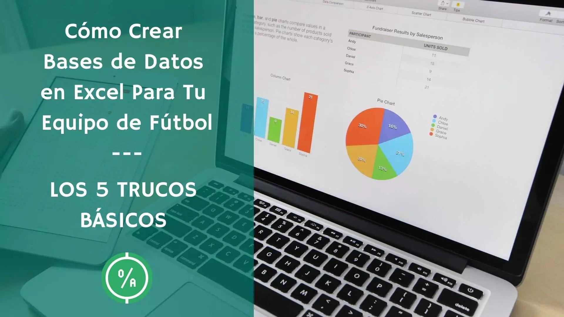 Los 5 trucos básicos para crear tu base de datos en Excel