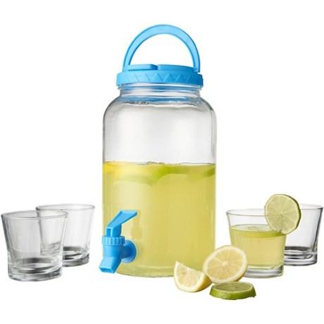 fontaine à limonade personnalisée - Audience Goodies - Objets Publicitaires et Goodies Originaux - Objets publicitaires Personnalisables