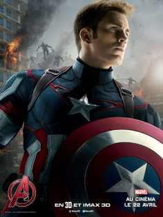 AvengersLeredUltron_Affiche_CAPT_AMERICA