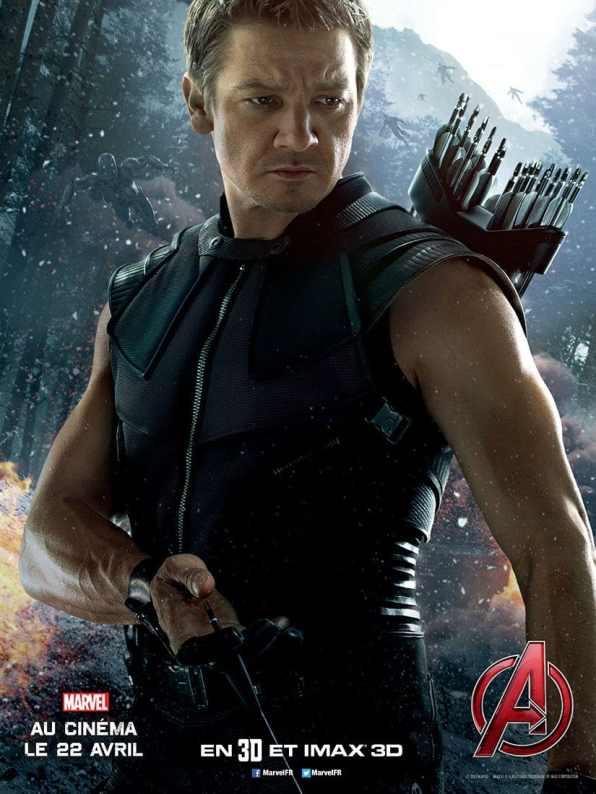 AvengersLeredUltron_Affiche__HAWKEYE