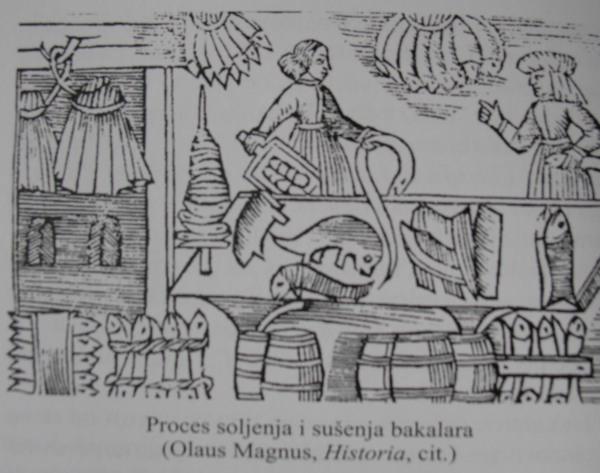 "Sušenje i soljenje bakalara (preneseno iz knjige ""U znaku bakalara"")"