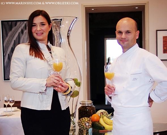 Za knjigu o prehrani za muškarce jela je nadahnuto pripremio chef The Regent Esplanade iz Zagreba Jeffrey Vella (Snimila Marina Filipović marinshe / Oblizeki)