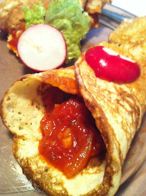 I šalša se kao i meksička salsa oblično slaže s tortillama i običnom palačinkama (Snimila Marina Filipović Marinshe / Acumen)