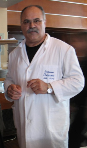 Zvonko Šalov iz restorana Poljana iz Malog Lošinja (Snimila Božica Brkan / Acumen)