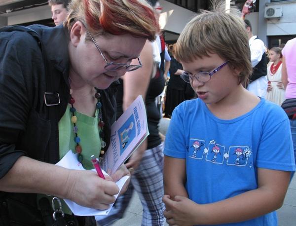 tervju u životu za Oblizeke: najmlađa natjecateljica (snimio Miljenko Brezak / Acumen)