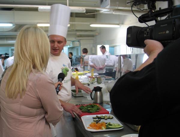 Izjava iz kuhinje budućega pobjednika kad još i ne sluti pobjedu u Zagorskome Chefu (Snimila Božica Brkan / Acumen)