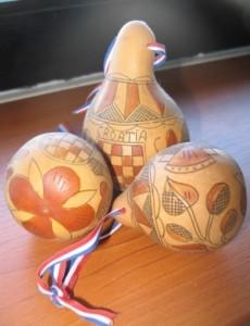 Ukrašene slavonske tikvice (Snimila Božica Brkan / Acumen)