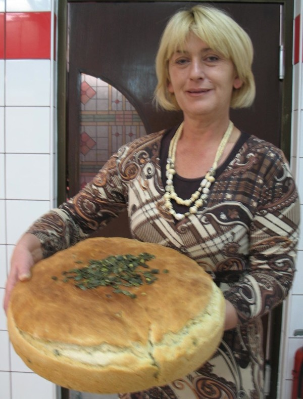 Ivanićankina dobrodošlica: domaći kruh s bučinim košticama (Snimila Božica Brkan / Acumen)