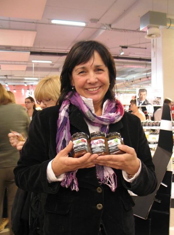 Mirjana Strancarić još je jednom dokazala ekskluzivnost svojih jabučnih kreacija (Snimila Božica Brkan / Acumen)
