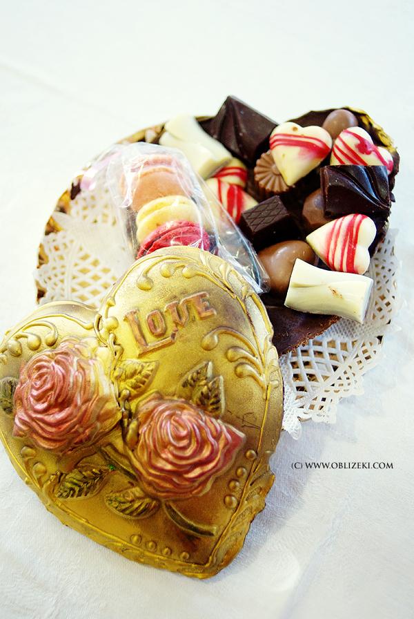 Valentinovsko čokoladno srce s pralinama kreacija je zagrebačke slastičarnice M & M (Snimila Marina Filipović / Marinshe)