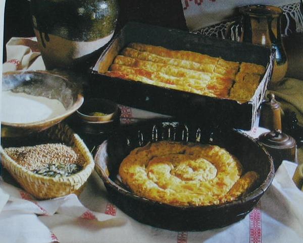 Kašnjaki slani i slatki (iz kataloga izložbe Vuzem od Korizme do Matkane nedele)
