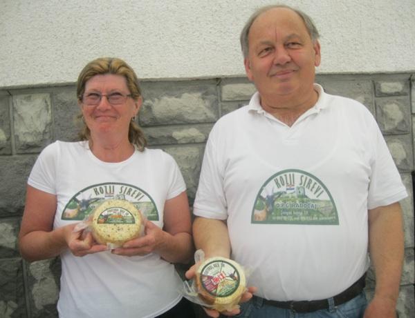 Bračni par Radočaj jedan je od pionira visokokvalitetnoga kozjeg sirarstva u Hrvatskoj (Snimio Miljenko Brezak / Acumen)