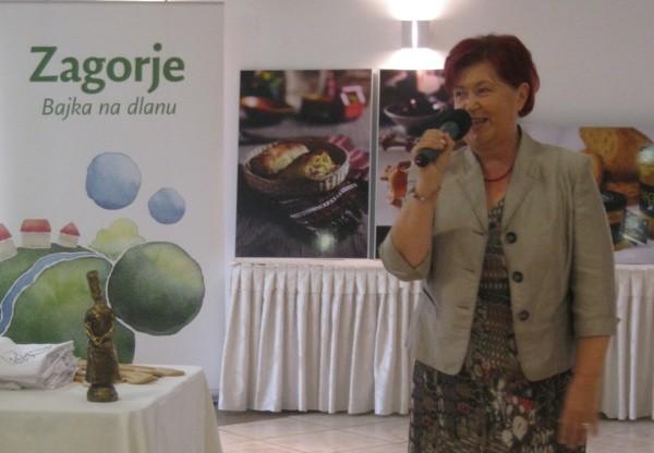 Županica Sonja Borovčak uvela u još jednu, po svemu sudeći redovitu gastropriredbu, koja podražava i druge zagorske priredbe i proizvode (Snimio Miljenko Brezak / Acumen)