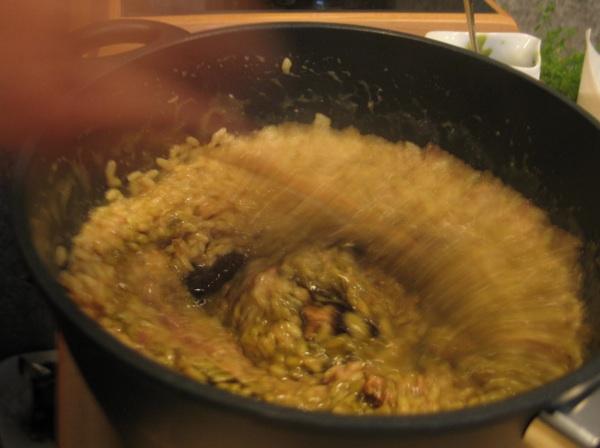Da biste sačuvali vrijednosti bučina ulja, najprije ga zamrznite, a potom posve na kraju brzo umiješajte u vrući rižoto  (Snimila Božica Brkan / Acumen)
