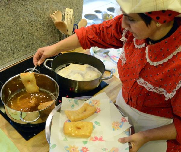 Snaša Kata odjednom peče listariće i dvije posude (Snimio Rene Karaman / Menu)