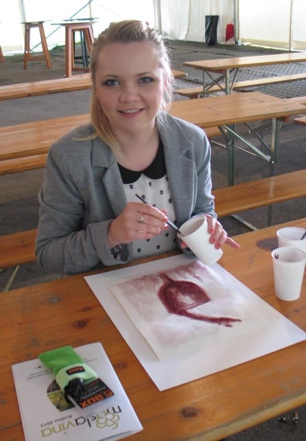 Vinske boje okusaša je i mlada Antonija Bučar (Snimila Božica Brkan / Acumen)