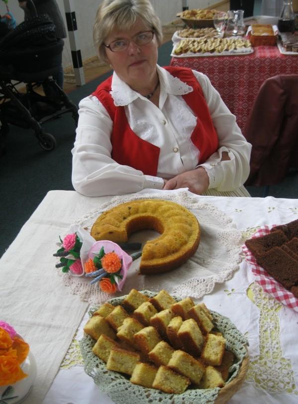 Josipa Vrhovski sa svojom slanom slasticom (Snimio Miljenko Brezak / Oblizek)