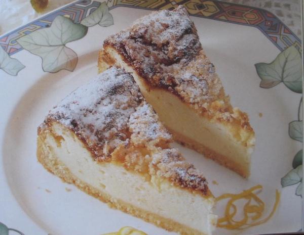Torta od sira iz knjige Slastice u Hrvata Ivanke Biluš, Ivanke Božić., Cirile Rode i Božice Brkan u izdanju Alfe