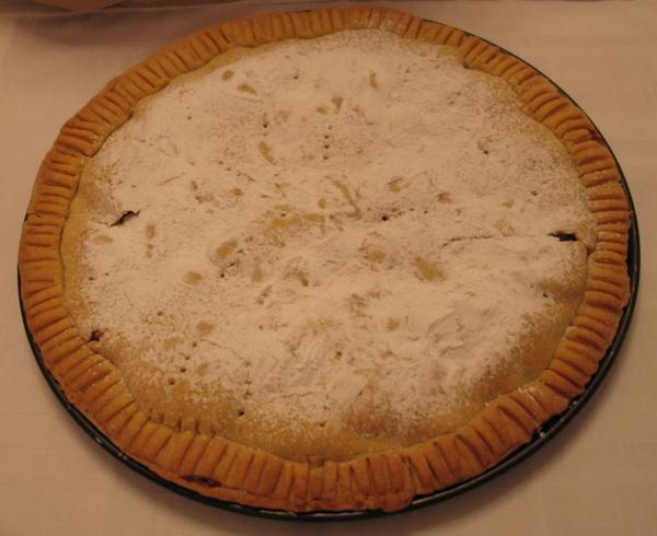 Torta-pita koju je ispekla petogodišnja djevojčica (Snimio Miljenko Brezak / Oblizeki)