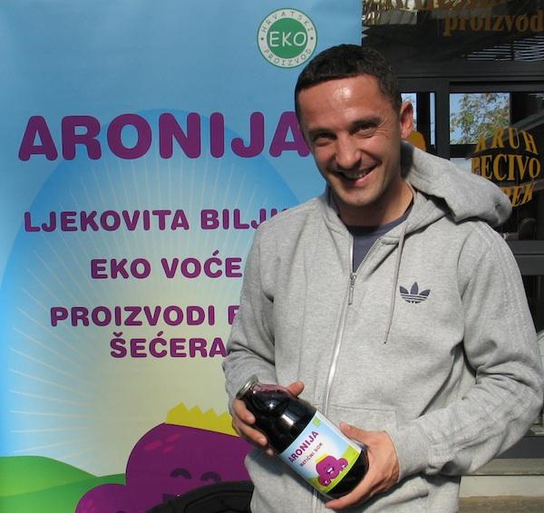 Mario na ivanićgradskoj Bučijadi 2013. godine (Snimila Božica Brkan / Oblizeki)