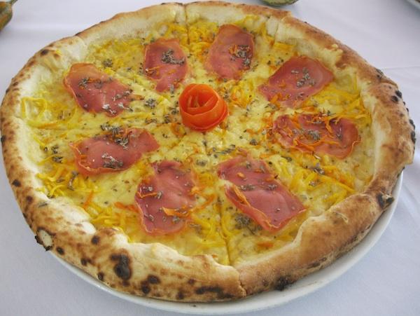 Još jedna pizza s bučom pizzerije Rošo (Snimila Božica Brkan / Oblizeki)